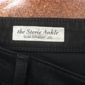 Ag Adriano Goldschmied Jeans - Adriano Goldschmied Stevie Slim Straight Ankle 28R